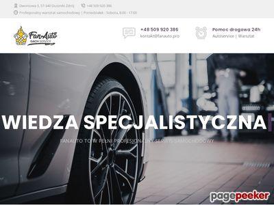FanAuto - pomoc drogowa, warsztat samochodowy, Duszniki-Zdrój