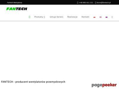 Obudowy wentylatorów : fantech.pl
