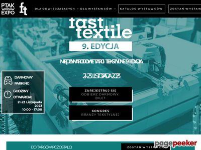 FastTextile Targi Tekstylne