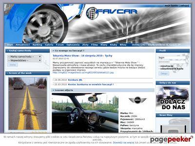 Portal motoryzacyjny, zdjęcia samochodów