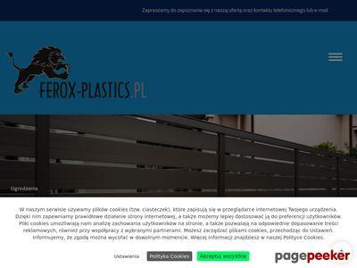 Ferox -Poliwęglan Lity, Komorowy, Ogrodzenia Panelowe. Dostawa cały kraj.