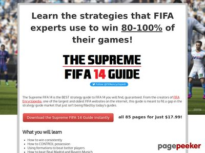 The Supreme FIFA 14 Guide - by FIFA Encyclopedia