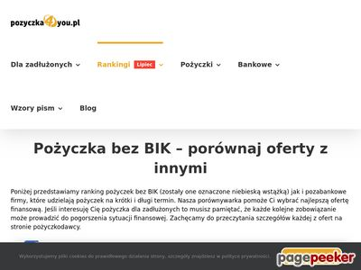 Pożyczki dla zadłużonych - Finrank.pl