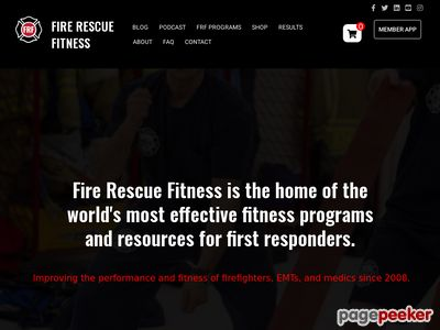 Ultimate Fire Rescue Athlete Workout - Fire Chief Health Fitness