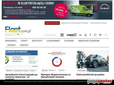 Miesięcznik i portal flotowy FLEET