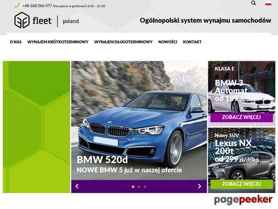 Wypożyczalnia samochodów Fleet Poland