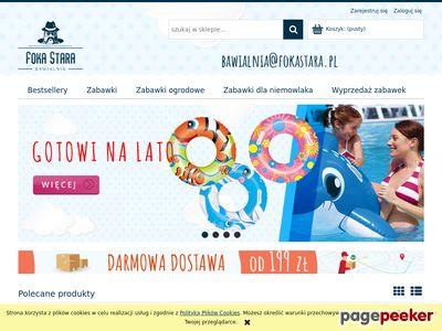FokaStara.pl - internetowy sklep z zabawkami