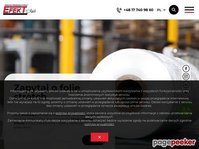 EFEKT PLUS Sp. z o.o. - Folia Produkcja