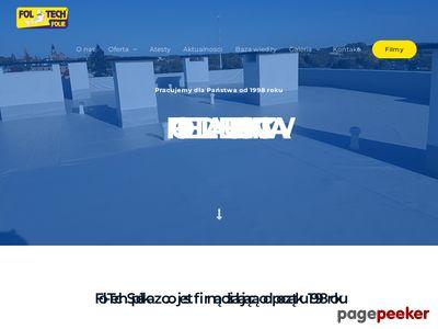 Membrany dachowe - foltech.pl