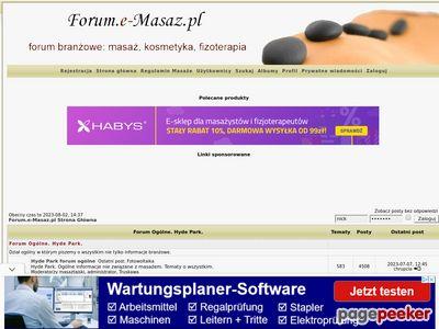Fizjoterapia forum
