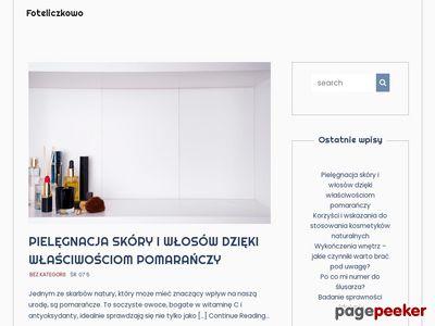 Foteliki Samochodowe, Wózki dla dzieci - Foteliczkowo.pl
