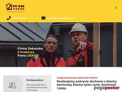 Franc-Deker - firma dekarska z Krakowa