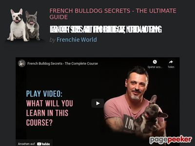 French Bulldog Secrets - The Ultimate Guide