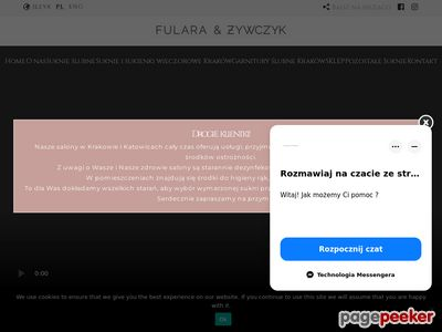 Suknie ślubne Kraków - FULARA & ŻYWCZYK