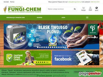 Internetowy sklep ogrodniczy Fungi-Chem