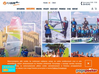 Nauka windsurfingu z FunSurf.pl