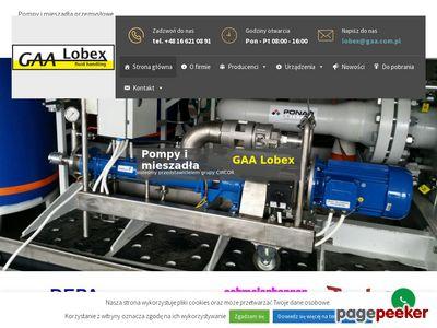 Pompy CRANE | GAA-Lobex
