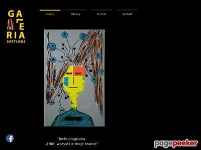 Galeria malarstwa, obrazy akrylowe, abstrakcje, obrazy na ścianę - Katarzyna Wróbel