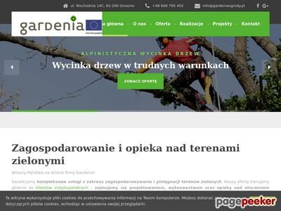 GARDENIA Trawa z rolki Poznań