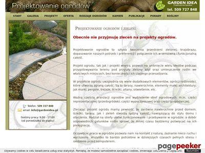 Projektowanie ogrodów, Projekty ogrodów - Wrocław