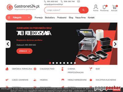 GastroNet24 - Wyposażenie gastronomii