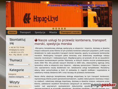Transport kontenera