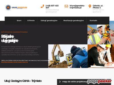 Geodeta - geodeta-trojmiasto.pl