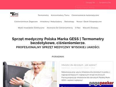 Gess.com.pl - termometr bezdotykowy