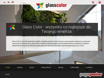 Szklane panele kuchenne - glasscolor.pl
