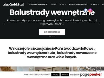 Drzwi szklane ze szprosami Warszawa - goldstal.pl