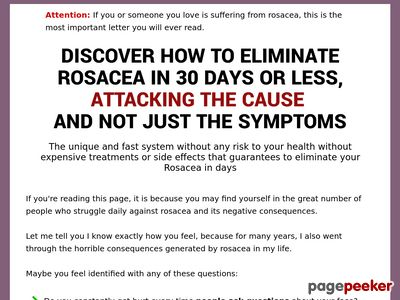 Goodbye Rosacea – Definitive Solution to Get Rid of Rosacea