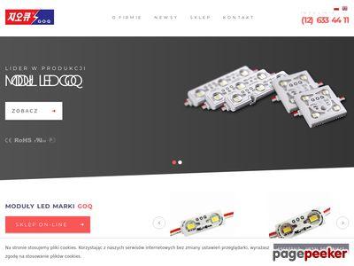 Goq Led - moduły i akcesoria LED