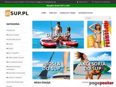 Sklep surferski - gosup.pl