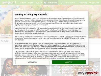 Przepisy Kulinarne: Ciasta, Desery, Sałatki, Obiad = Gotujmy.pl