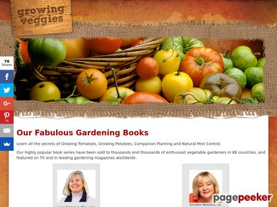 Our Fabulous Gardening Books Growing Veggies