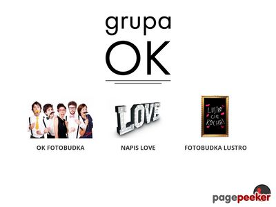 OK Fotobudka - Grupa-OK.pl