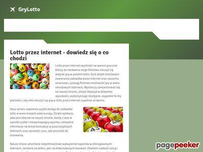 Lotto przez internet