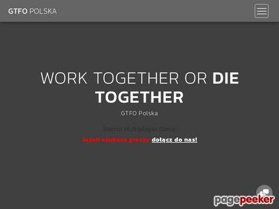 GTFO Polska - społeczność graczy
