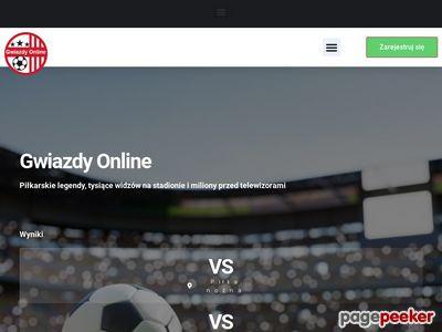 Gwiazdyonline.pl gwiazdy piłki noznej