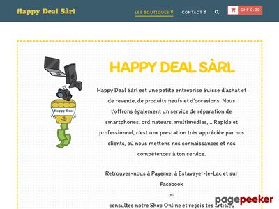 Happy Deal Sàrl (Payerne) - A visiter!