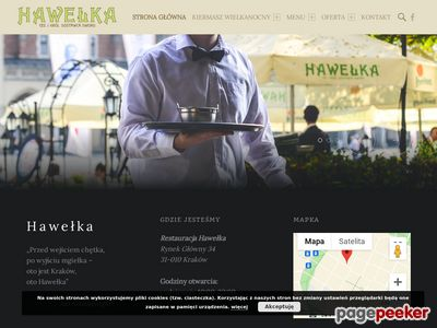 HAWEŁKA – najlepsza restauracja krakowska