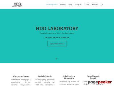Odzyskiwanie danych warszawa - hddlaboratory.pl