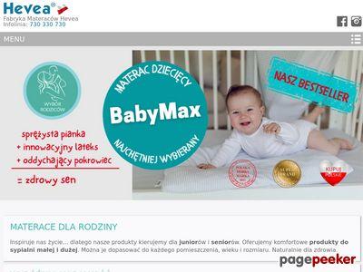 Heveamaterace.pl - polski producent materaców