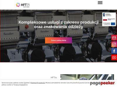 HFT71 - Haft komputerowy