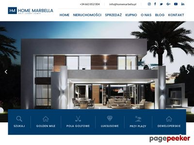 Marbella Hiszpania mieszkania