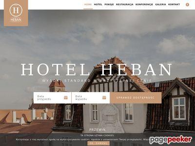 Noclegi Toruń - Hotel Heban