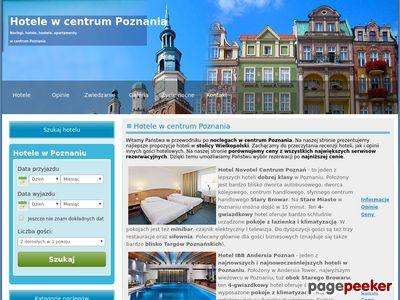 Poznań - hotele i noclegiw centrum