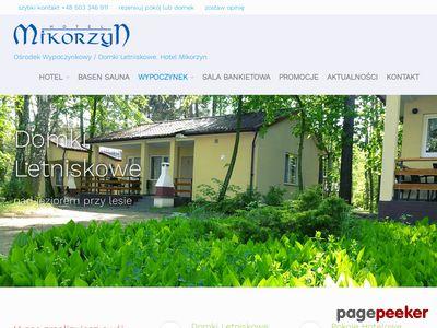 Hotel Mikorzyn – pokoje hotelowe nad jeziorem