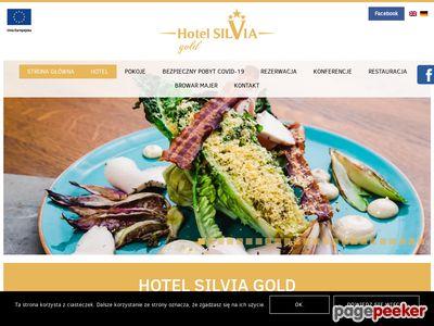 Hotel Silvia Gold -restauracja w Gliwicach