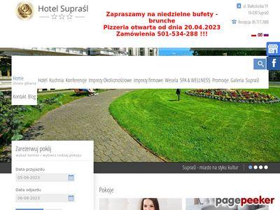 Supraśl Hotel organizacja wesela supraśl